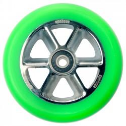 Anaquda Taipan 110mm Wheel - green/chrome