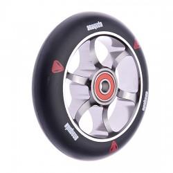 Anaquda Spoked 110mm Wheel - black/titan grey