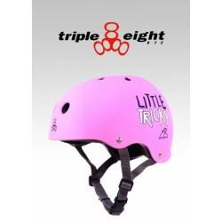 Triple Eight Little Tricky Brainsaver - rosaŸ matt