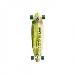 Paradise Complete Longboard Pintail White Bamboo 9.75x41.0