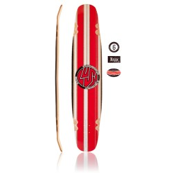 Lush Legend Stripe Longboard Deck