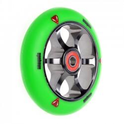 Anaquda Spoked 110mm Wheel - green/titan grey